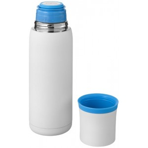 Flow vacuum insulated flask