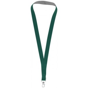 Aru dual-tone lanyard with...
