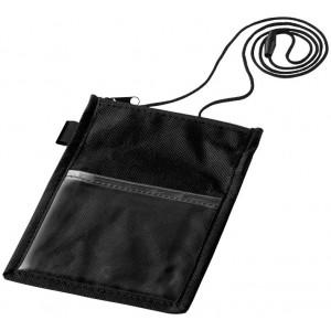 Identify badge holder pouch...