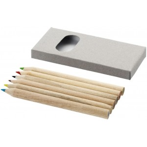 Set de 6 lápices de colores...