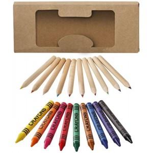Set de 19 lápices y ceras...