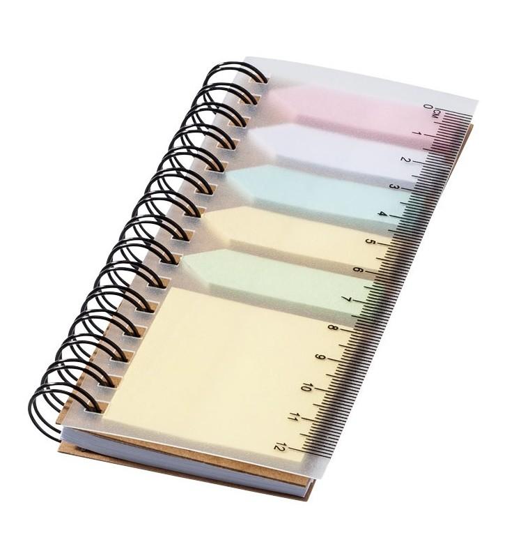 Spiral sticky note book