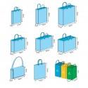 Shopper bags 100% customised