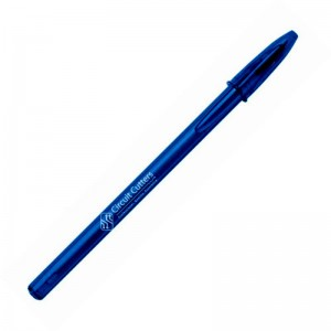 Personalised pen BIC Style clear