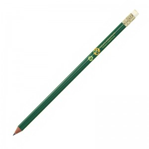 ECO-FRIENDLY wooden pencil with rubber
