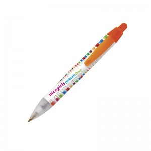 Personalised plastic pen BIC Mini Wide Body Digital