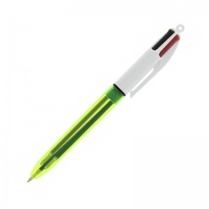 Personalised pen BIC 4 Colours