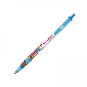 Personalised plastic pen BIC Clic Stic Digital