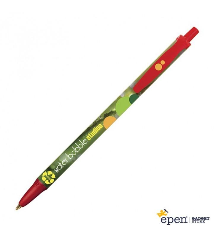 Personalisierter ÖKO-Kugelschreiber Clic Stic Digital