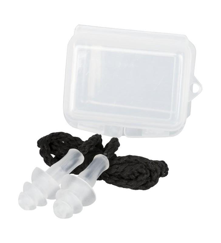 Tappi per le orecchie riutilizzabili Bazz per l'attenuazione del rumore, con custodia