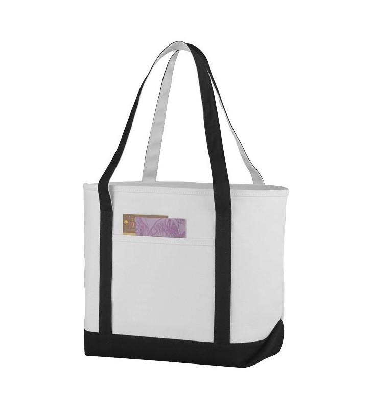 Shopper in cotone pesante stile marinaresco Premium