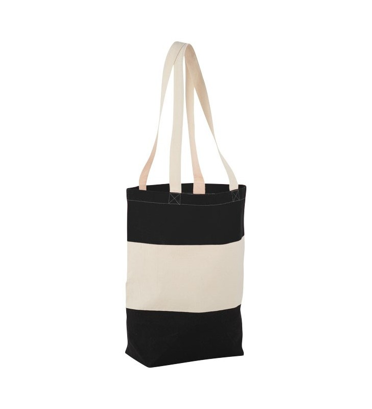 Shopper in cotone Colour Block