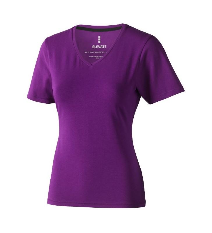 T-shirt con scollo a V Kawartha da donna