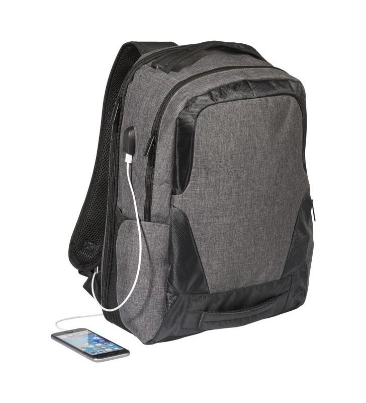 Zaino Overland con porta USB approvato TSA per computer da 17''