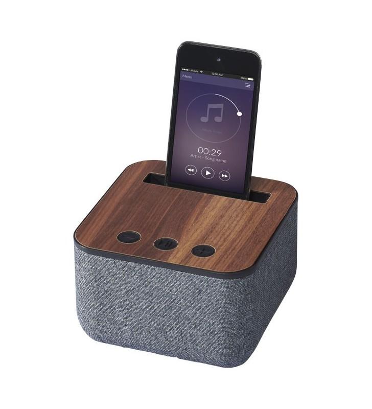 Speaker Bluetooth® Shae in tessuto e legno