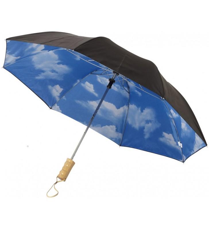 Ombrello automatico 2 sezioni Blue skies 21''