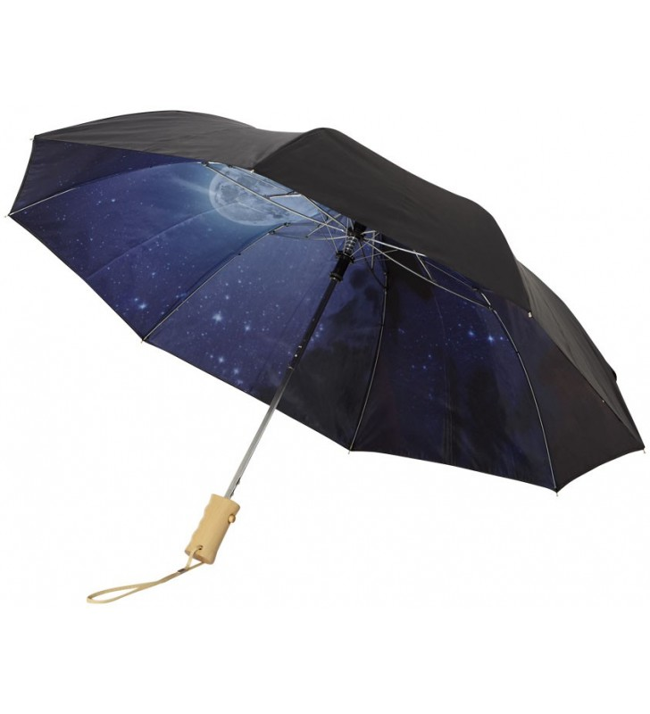 Ombrello automatico 2 sezioni Clear night sky 21''