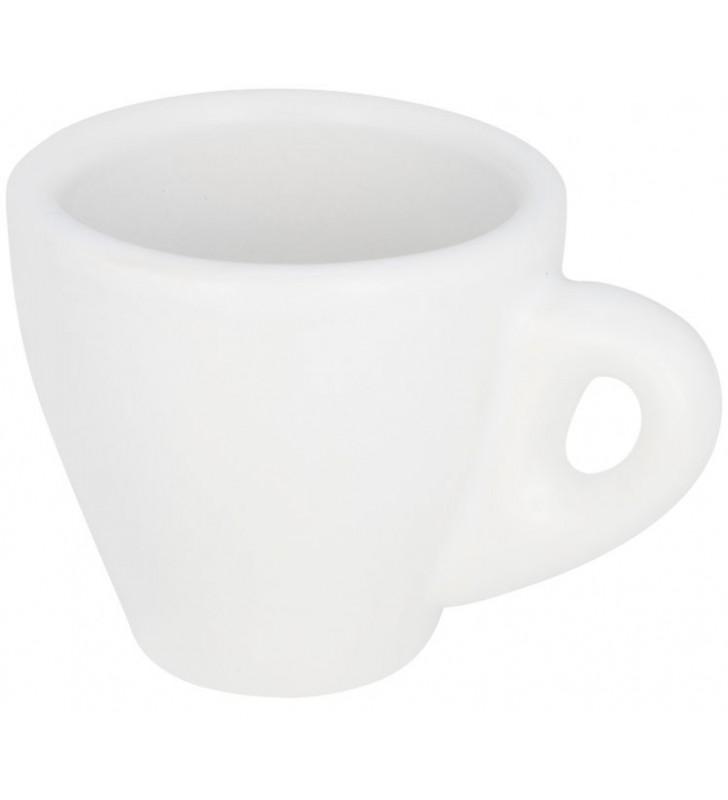Perk, tazza bianca per caffè espresso