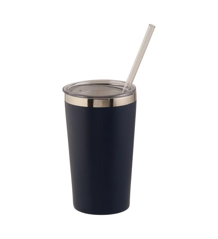 Bicchiere con isolamento sottovuoto con rame