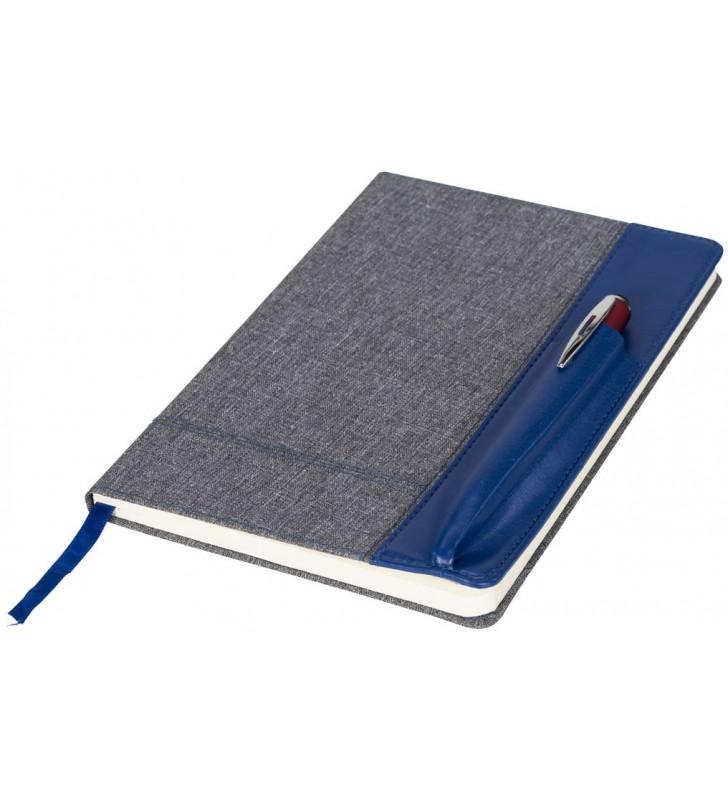 Quaderno multicolore in formato A5 con costa in eco pelle