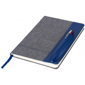 Heathered A5 Notizbuch mit...