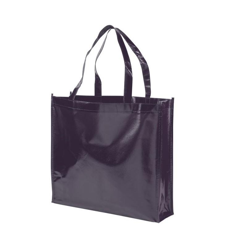 Shopper in tessuto non tessuto laminato Shiny