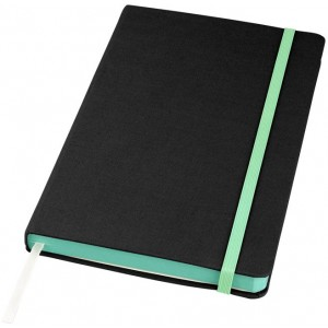 Frappé fabric A5 hard cover...