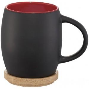 Taza de cerámica con base o...