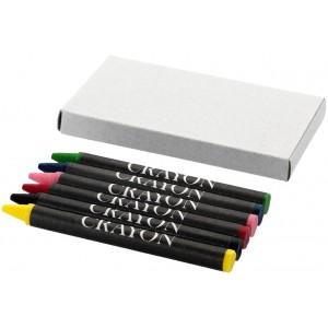 Crayons de couleur 6 pièces...