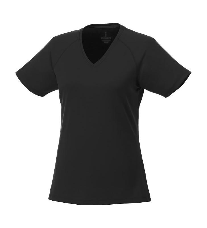 T-shirt cool fit Amery a manica corta da donna collo a V