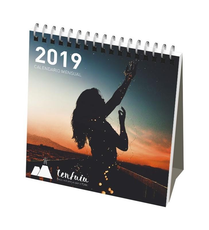 Calendario da tavolo con copertina morbida
