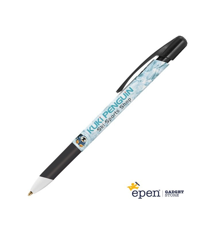 Personalised plastic pen BIC Media Clic Grip Digital