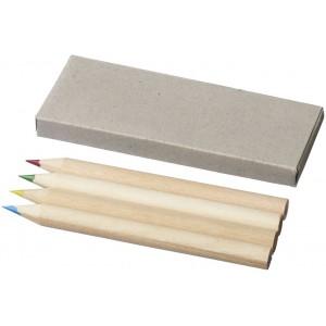 Set de 4 lápices de colores...