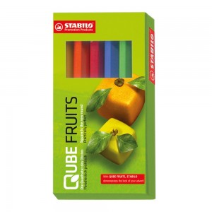 Stabilo Coloured Pencils Box 6 pcs. - 8.5 cm