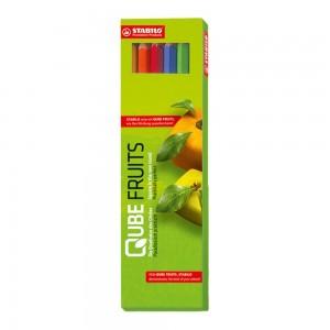 Stabilo Ensemble de 6 pcs crayons de couleurs.