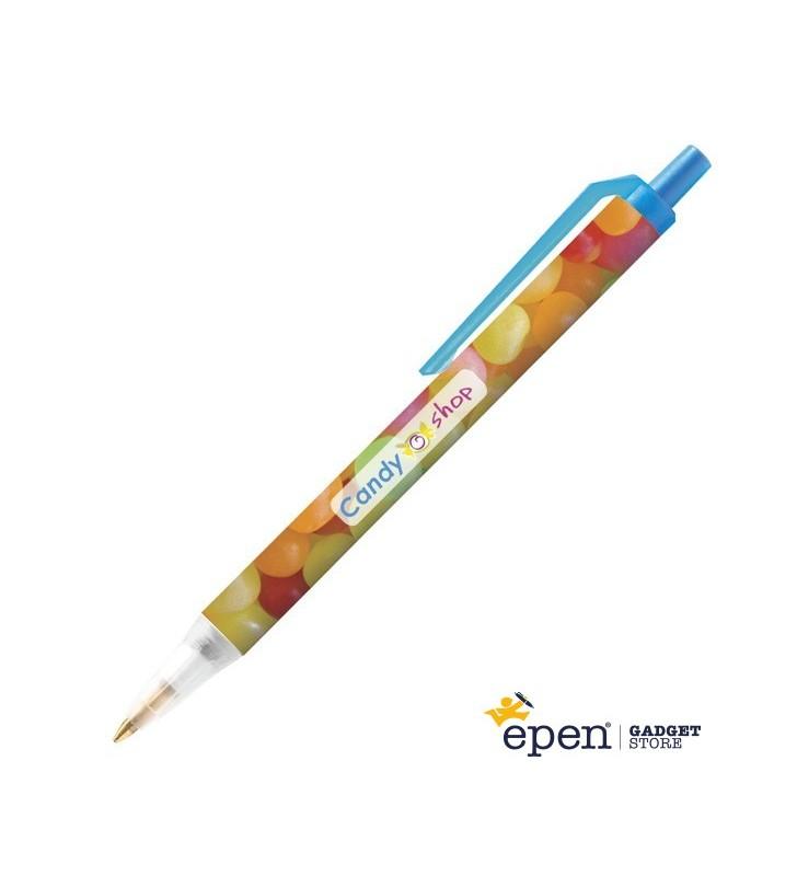Bolígrafo de plástico BIC Clic Stic Mini Digital personalizado