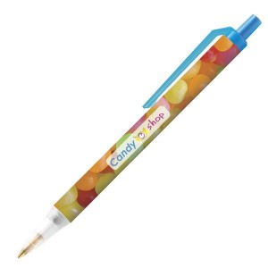 Personalised plastic pen BIC Clic Stic Mini Digital