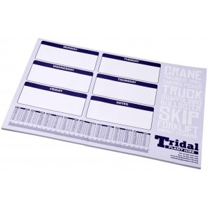 Desk-Mate® A2 notepad