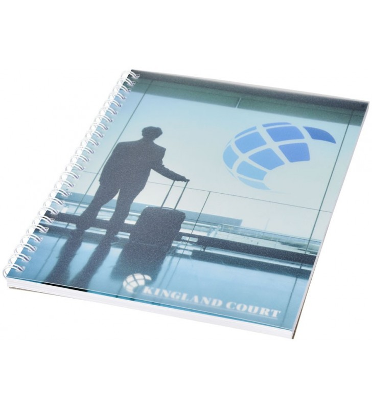 Notebook A5 spiralato con copertina in PP