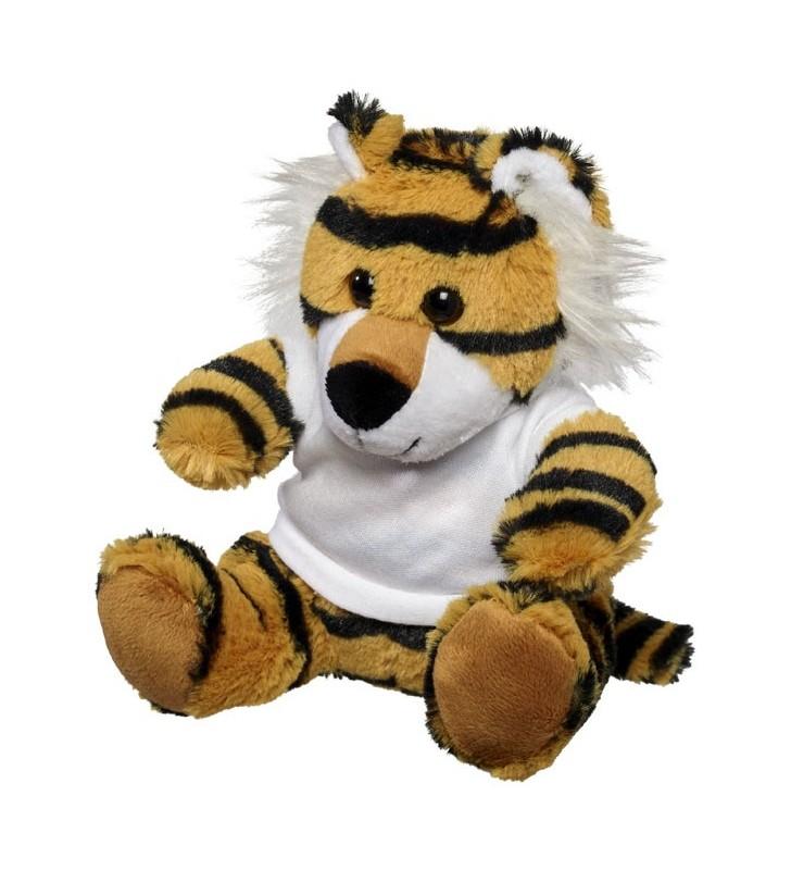 Tigre di peluche con t-shirt Stripes