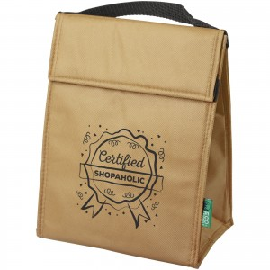 Triangle cooler bag