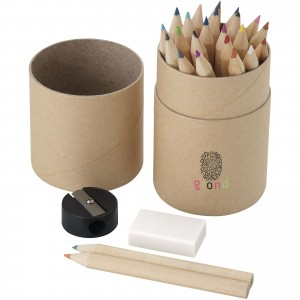 Woodby 26-piece coloured...