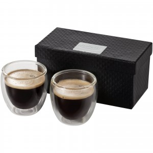 Boda 2-piece glass espresso...