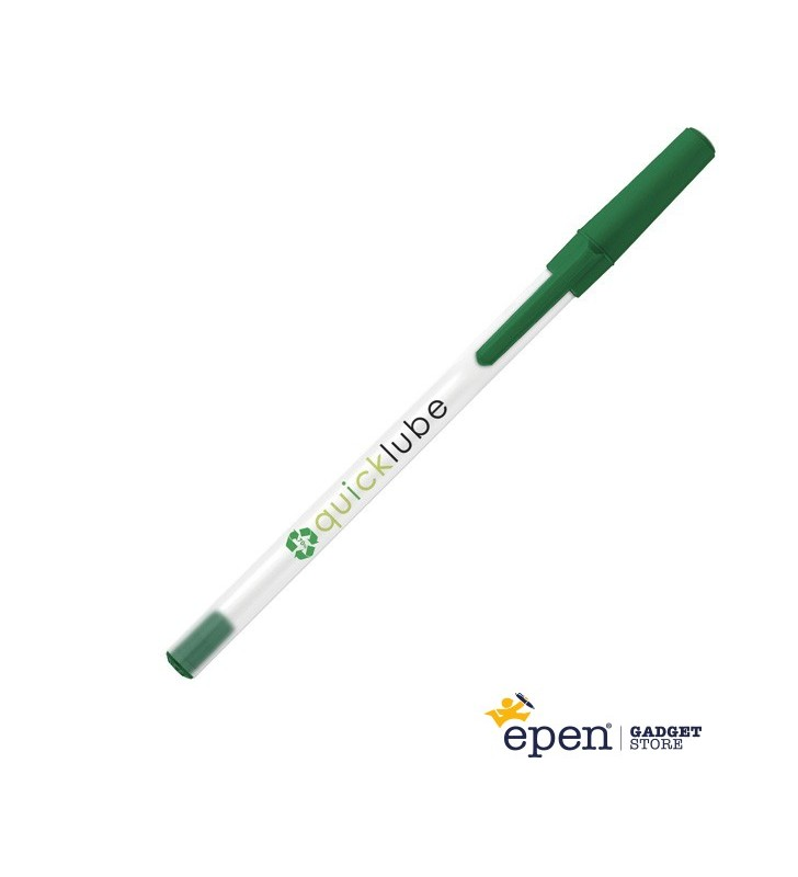 Personalised ECO-FRIENDLY pen Round Stic