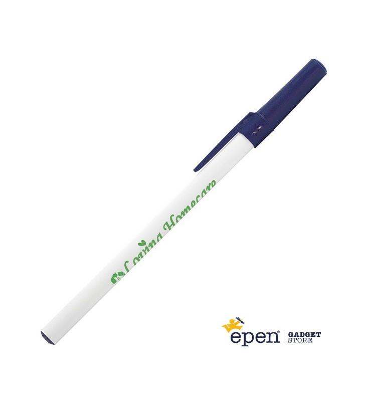 Personalisierter ÖKO-Kugelschreiber Round Stic