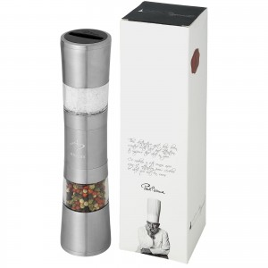 Dual stainless steel pepper...