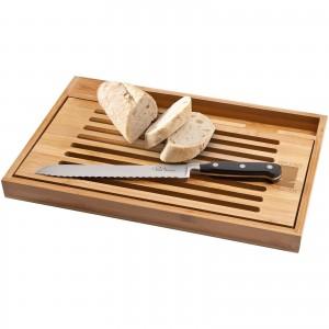 Tabla con cuchillo para pan...