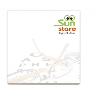 75mm x 75mm Adhesive Notepads ECO
