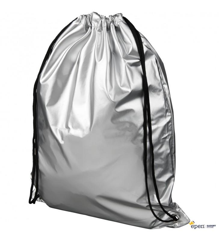 Oriole shiny drawstring backpack