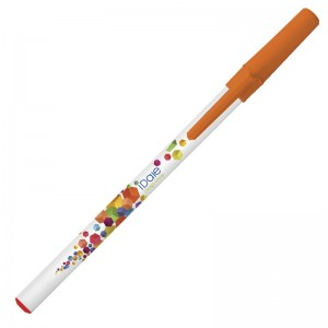 Personalised plastic pen BIC Round Stic Digital